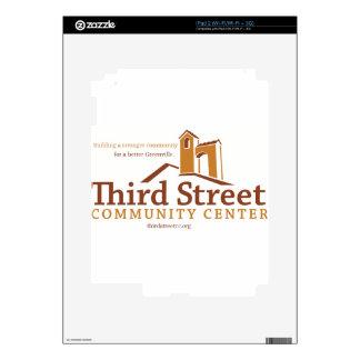 Third Street Community Center Vision Skins For iPad 2