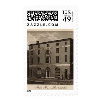 Third Street in Philadelphia Stamp