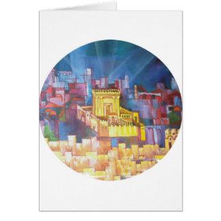 Third Temple of Jerusalem Greeting Card