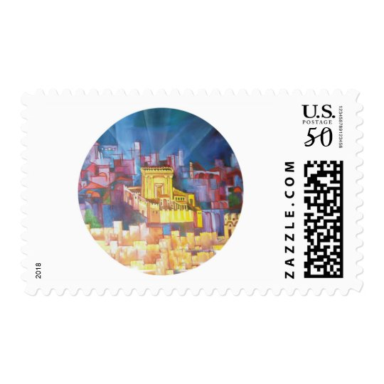 Third Temple of Jerusalem Postage