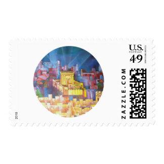 Third Temple of Jerusalem Stamp