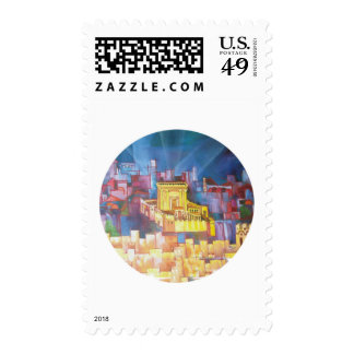 Third Temple of Jerusalem Postage Stamp