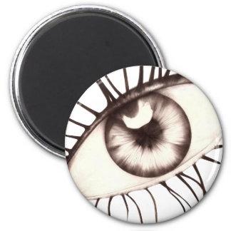 Third vision/big eye 2 inch round magnet