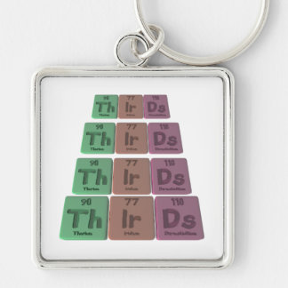 Thirds-Th-Ir-Ds-Thorium-Iridium-Darmstadtium.png Keychain