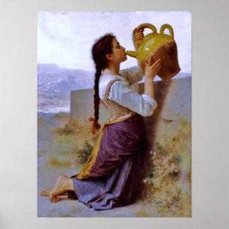Thirst (la soif) - Bouguereau ~ Poster