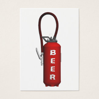 Thirst Quencher Beer Business Card