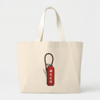 Thirst Quencher Beer Large Tote Bag