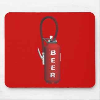 Thirst Quencher Beer Mouse Pad