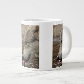 Thirsty, But Watchful Jumbo Mugs