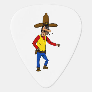 Thirsty Cowboy Guitar Pick