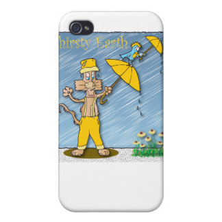 Thirsty Earth iPhone 4/4S Covers