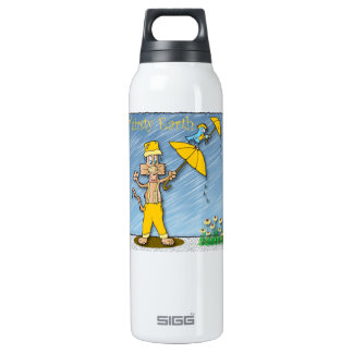 Thirsty Earth 16 Oz Insulated SIGG Thermos Water Bottle