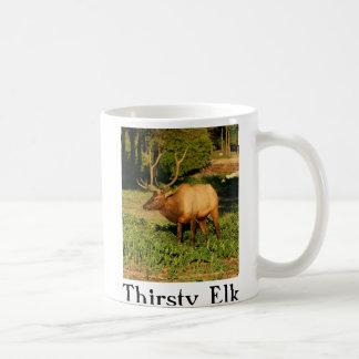 Thirsty Elk Coffee Mug