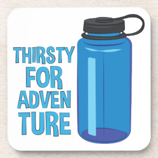 Thirsty For Adventure Beverage Coaster