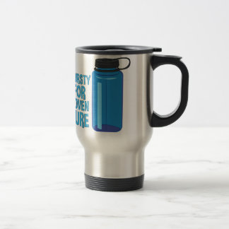 Thirsty For Adventure Travel Mug