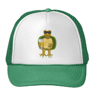 Thirsty Turtle Trucker Hat