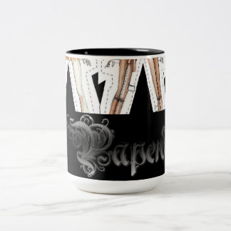 thirsty? Two-Tone coffee mug