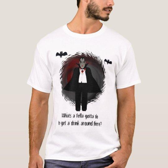 Thirsty Vampire Tshirt