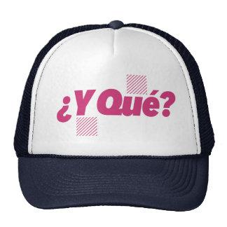 Thirsty Wear - Cap Y Que Trucker Hat