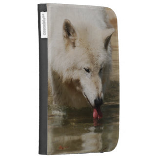 Thirsty Wolf Kindle Case
