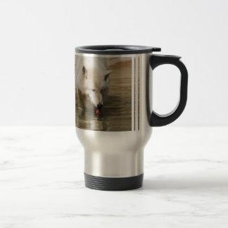 Thirsty Wolf 15 Oz Stainless Steel Travel Mug