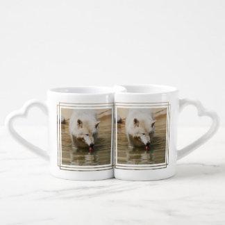 Thirsty Wolf Couples' Coffee Mug Set
