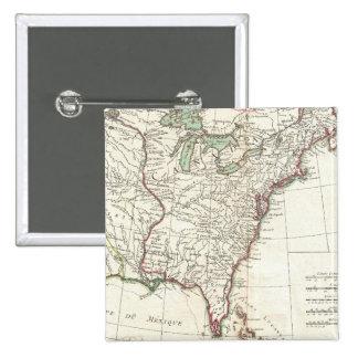 Thirteen Colonies Vintage Map (1776) Pin
