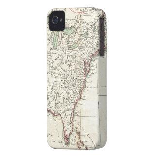 Thirteen Colonies Vintage Map (1776) iPhone 4 Case
