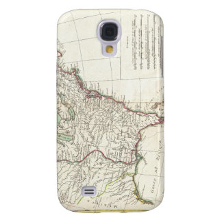 Thirteen Colonies Vintage Map (1776) Galaxy S4 Cover