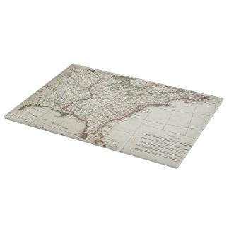 Thirteen Colonies Vintage Map (1776) Cutting Board