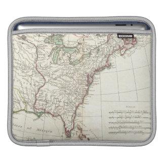 Thirteen Colonies Vintage Map (1776) iPad Sleeve