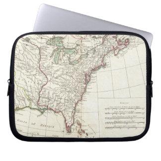 Thirteen Colonies Vintage Map (1776) Laptop Sleeve