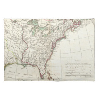 Thirteen Colonies Vintage Map (1776) Placemat