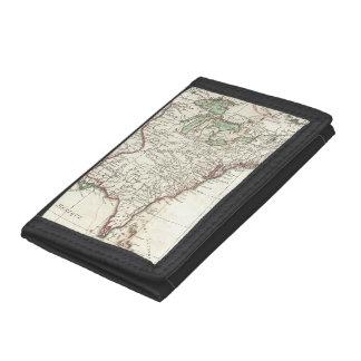 Thirteen Colonies Vintage Map (1776) Wallet