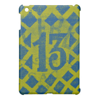 Thirteen - lime/blue case for the iPad mini