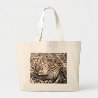 Thirteen Lined Ground squirrel Large Tote Bag