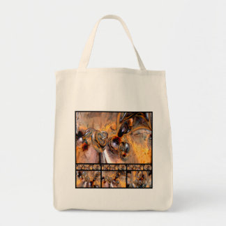 Thirteen Pieces Grocery Tote Bag