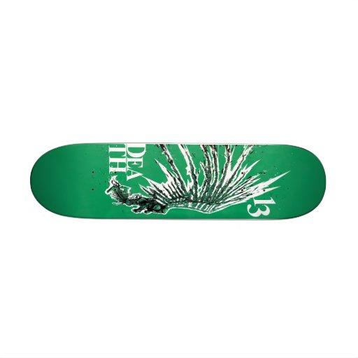 thirteen skate board deck