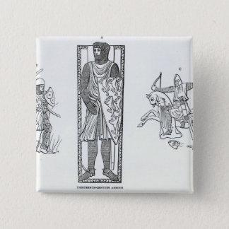 Thirteenth-century armour button