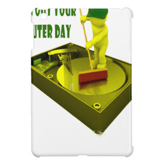 Thirteenth February - Clean Out Your Computer Day iPad Mini Cover