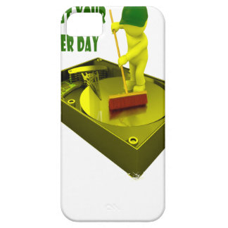 Thirteenth February - Clean Out Your Computer Day iPhone SE/5/5s Case