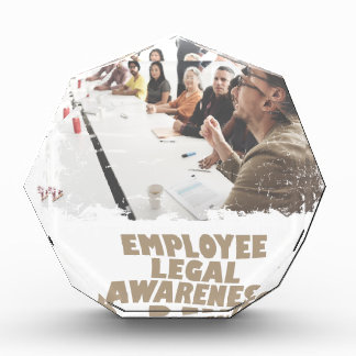 Thirteenth February - Employee Legal Awareness Day Acrylic Award