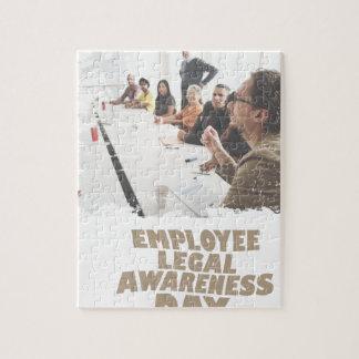Thirteenth February - Employee Legal Awareness Day Jigsaw Puzzle