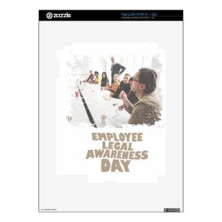 Thirteenth February - Employee Legal Awareness Day Skin For iPad 2