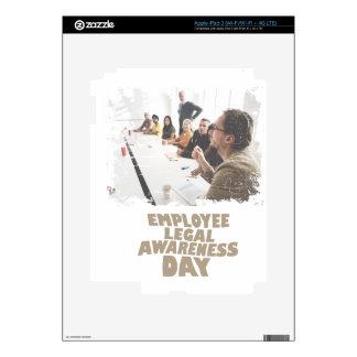 Thirteenth February - Employee Legal Awareness Day Skins For iPad 3