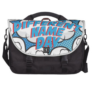 Thirteenth February - Get A Different Name Day Commuter Bag