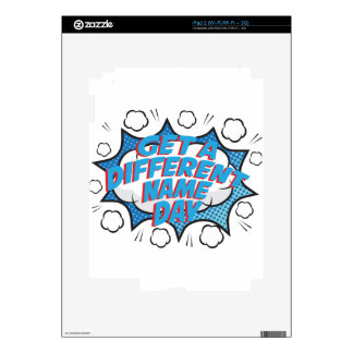 Thirteenth February - Get A Different Name Day Decals For iPad 2