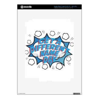 Thirteenth February - Get A Different Name Day Skins For iPad 3