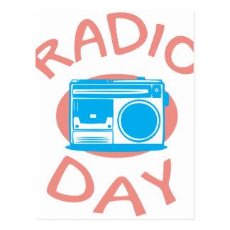 Thirteenth February - Radio Day - Appreciation Day Postcard