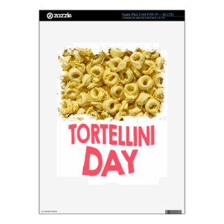 Thirteenth February - Tortellini Day iPad 3 Decal